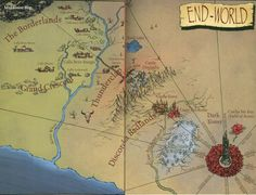 """End-World Map"" The Dark Tower Series"