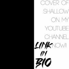 Link in bio for my cover of Shallow-Star is Born! Thank youuuuuu Shallow, Star, Cover, Link, Music, Youtube, Muziek, Musik, Blankets