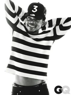 How Chance the Rapper's Life Became Perfect - GQ, September 2016 Black And White Picture Wall, Black And White Pictures, Chance The Rapper Lyrics, Dennis Brown, Hip Hop Art, American Rappers, Celebs, Celebrities, Man Crush