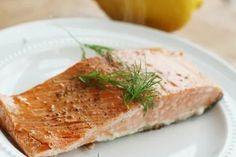 How to Cook Salmon from Frozen Healthy Recipe Videos, Easy Dinner Recipes, Healthy Dinner Recipes, Easy Meals, Weeknight Meals, Dinner Ideas, Healthy Foods To Eat, Healthy Baking, Healthy Snacks