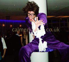 AUSTIN POWERS DANCING STILT WALKER - DISCO 70s 80s themed parties LONDON & UK