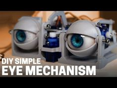 Here's how I build my simplified printed arduino animatronic eye mechanism. This is a good option if you'd like to try out some DIY arduino robotics but d. Technology World, Technology Gadgets, Science And Technology, Learn Robotics, Big Data Technologies, Moving Eyes, Arte Robot, 3d Laser, Arduino Projects