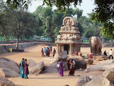 Five Rathas in Māmallapuram, Tamil Nadu