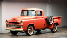 Results - Worldwide Auctioneers Vintage Pickup Trucks, Old Trucks, Classic Trucks, Classic Cars, Classic Style, Station Wagon, Dakota Truck, Ram Power Wagon, Car Museum