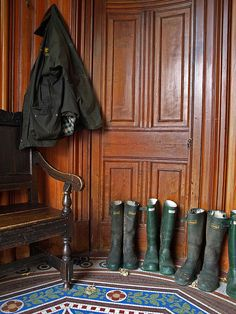 Green wellies by Fraser P, via Flickr