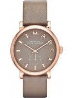 Orologio Donna Marc By Marc Jacobs Baker MBM1266 Cinturino di cuoio gris