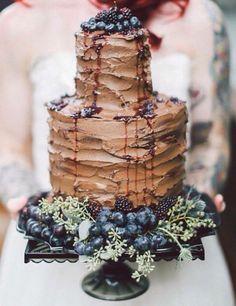 2nd cake - make 3 tier & Dark chocolate