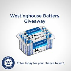 Free+Giveaway:+Westinghouse+24+pack+AAA+Dynamo+Batteries+  Enter+Here:+http://www.giveawaytab.com/mob.php?pageid=928608903856889