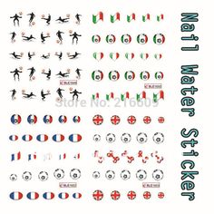 2014 Nail 22Sheets/Lot Football Designs Nail Water Decal DIY Nail Applique Sticker Tips Mix 11 Designs BLE1643-11653 |  Compare Best Price for 2014 Nail 22Sheets/Lot Football Designs Nail Water Decal DIY Nail Applique Sticker Tips Mix 11 Designs BLE1643-11653 product. This shopping online sellers give you the best deals of finest and low cost which integrated super save shipping for 2014 Nail 22Sheets/Lot Football Designs Nail Water Decal DIY Nail Applique Sticker Tips Mix 11 Designs…