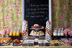awesome brunch table