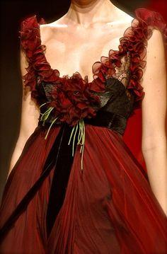 LOVE Elie Saab, he has such delicate, feminine dresses