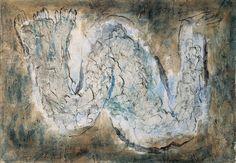 """Jean Fautrier : """"L'écorché"""" - 1944"""