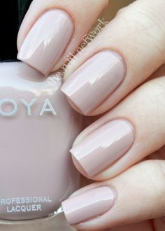 The Nail Network's review of Zoya Nail Polish in Kennedy on Intergloss