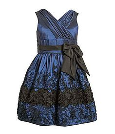 Bonnie Jean 716 Bonaz Border Dress #Dillards - flower girl possibility