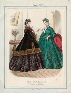 Le Follet, March 1863