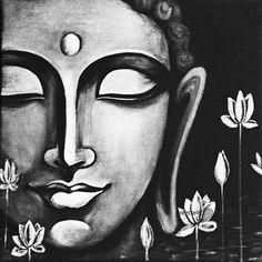 Buddha Peace, Art Prints of Original Painting by Pratibha Madan @Preetkriti