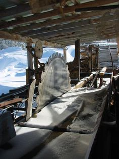 Understanding the small sawmill option.