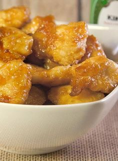 Skinny Sweet and Sour Chicken... delicious!