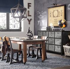 Go Restoration Hardware!! This is a beautiful vintage school table!  Vintage Schoolhouse Large Play Table | Playroom | Restoration Hardware Baby & Child  $359!!