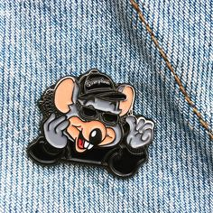 Image of Eazy-ChEeze 30mm Soft Enamel Pin