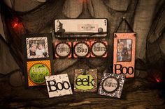 Halloween Signs by Sarah Owens for #CraftWarehouse