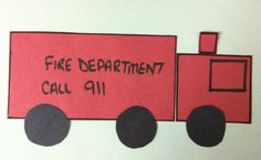 Fun Crafts Using Construction Paper September Art, October Crafts, Construction Paper Crafts, Classroom Crafts, Fire Trucks, Fun Crafts, Image Search, Lettering, Aurora