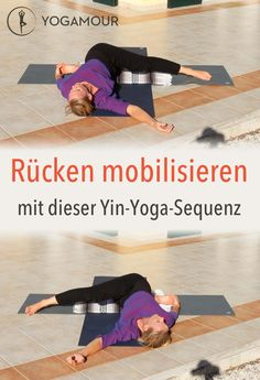 Yin Yoga am Abend This Yin Yoga sequence minutes video) is suitable for mobilizing the back - especially in the evening before going to sleep Vinyasa Yoga, Yoga Restaurador, Yoga Yin, Yoga Flow, Yoga Fitness, Health And Fitness, Insanity Workout, Best Cardio Workout, Iyengar Yoga