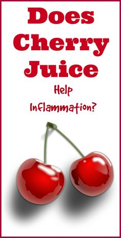 Learn why tart cherry juice is gaining a reputation as a natural anti-inflammatory agent, especially for people who suffer from arthritis and gout.