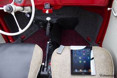 VW Beetle Sound System 6V iPod iPhone in Ashtray | classiccult