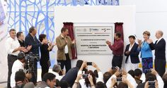 Rafael Moreno Valle y Enrique Peña Nieto inauguran Hospital de Traumatología