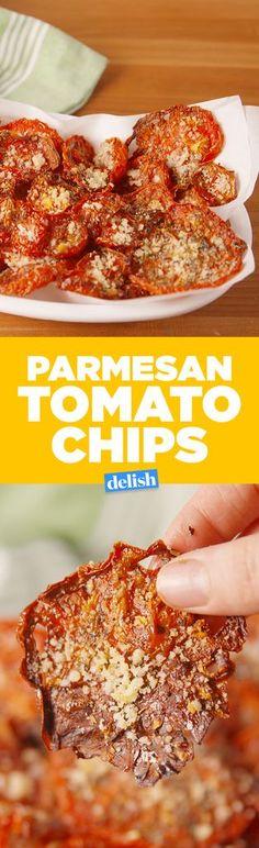 Parmesan Tomato Chips