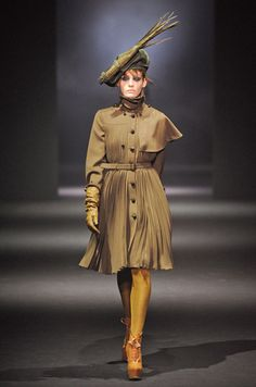 John Galliano 2012-2013: revamping the countryside look !