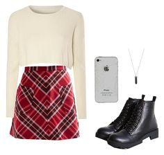 """""""outfit #1"""" by rc-m ❤ liked on Polyvore featuring Silence + Noise, Glamorous, Karen Kane, women's clothing, women's fashion, women, female, woman, misses and juniors"""