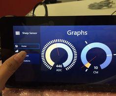 Distance Sensor With Arduino and Raspberry Pi Iot Projects, Arduino Projects, Upcycling Projects, Hobby Electronics, Electronics Projects, Projets Raspberry Pi, Pi Computer, Arduino Board, Diy Tech