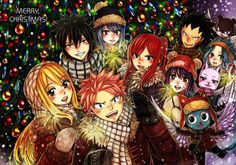 Fairy Tail [Christmas] by LeonS-7 on DeviantArt