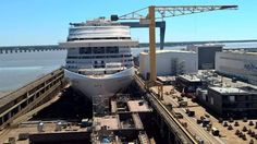 Yes it's a photo of MSC Meraviglia, but there are some close-ups of Oasis 4 blocks in this photo. :)