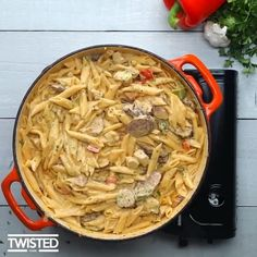 """5,727 Likes, 50 Comments - Twisted (@jungletwisted) on Instagram: """"Cajun Chicken and Sausage Pasta 🍝 - #TwistedFood #pasta #sausage #creative #recipe #chicken #penne…"""""""