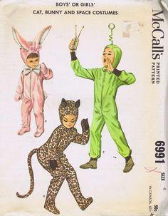 cute vintage kid's costumes