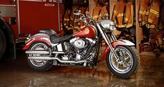 Special Edition Harley-Davidson for Fallen Firefighters Families shared  by NYC Firestore