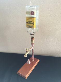 Liquor Dispenser by ManMadeForManCave on Etsy