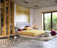 No matter what it is, you should be able to draw some creative inspiration from these 8 beautiful bedrooms from skilled designers and visualizers.