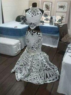 Miss Pacific Island 2014's dress
