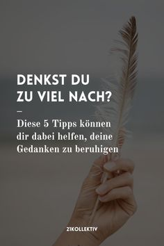 Denkst du zu viel nach? ❤️ Susa, Body And Soul, Optimism, True Words, Intuition, Self Care, No Time For Me, Need To Know, Holding Hands