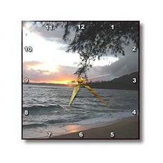 Hawaii Sunset - Wall Clocks