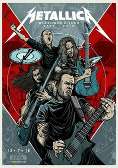 For everything Metallica check out Iomoio Art Metallica, Metallica Quotes, Metallica Concert, Heavy Metal Rock, Nu Metal, Heavy Metal Music, Heavy Metal Bands, Rock Posters, Band Posters