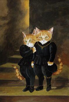 Princes in the Tower (John Everett Millais) by Susan Herbert
