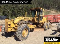 Low-Hours Cat 140G 81V01033 Motor Grader for Sale. Visit Mico Equipment for Used & New Cat Heavy Motor Grader at Competitive Prices, Backed By Professional Support and Services.