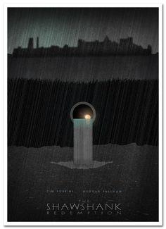 Shawshank Redemption Alternative Film Poster 4 by ~3ftDeep