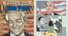 Ron Paul gets his own comic book! Coming February, from Bluewater Productions.