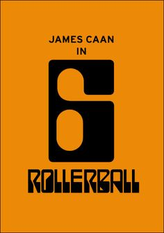 Rollerball. Minimalist Movie Poster